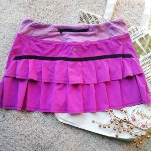 LULULEMON 6 pink skirt